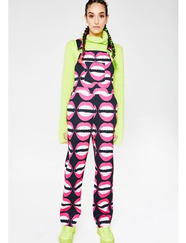Mouthy Overalls by Hayley Elsaesser