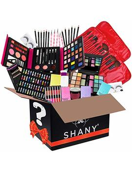 Shany Holiday Surprise   Exclusive All In One Makeup Bundle   Includes Pro Makeup Brush Set, Eyeshadow Palette,Makeup Set, Lipgloss Set And Etc.   Colors & Selection Vary by Shany Cosmetics