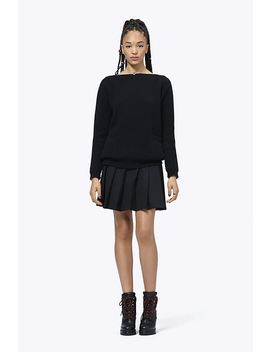 Wool Cashmere Boatneck Sweater by Marc Jacobs