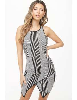 Chevron Mini Dress by Forever 21