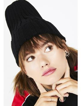 Street Smart Ribbed Beanie by Impulse Fashion Accessories