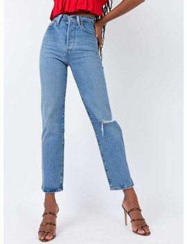 Levis Haters Gonna Hate Ribcage Straight Jeans by Levi's