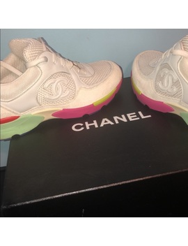 Chanel Suede Sneakers by Chanel