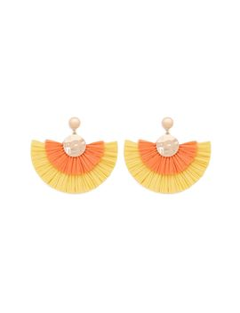 Fringe Fan Drop Earrings by Forever 21