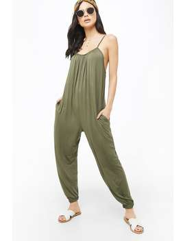 Calf Length Cami Jumpsuit by Forever 21