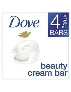 Dove Original Beauty Cream Soap Bar 4 X 100g by Superdrug