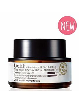 2016 New   Belif The True Tincture Mask Chamomile by Belif