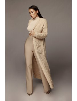 Tan Lexi Soft Cardigan by Jluxlabel