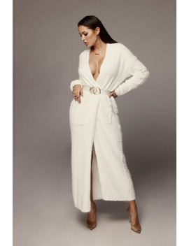 Ivory Lexi Soft Cardigan by Jluxlabel