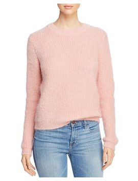 Fuzzy Textured Sweater by Vero Moda