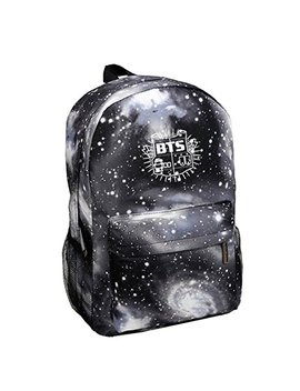 Kpop Bts Backpack Suga V Jin Jimin Rap Monster Schoolbag Starry Sky Satchel by Baby Healthy