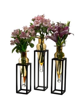 Charlton Home Cockayne 3 Piece Amphora Vase Set & Reviews by Charlton Home
