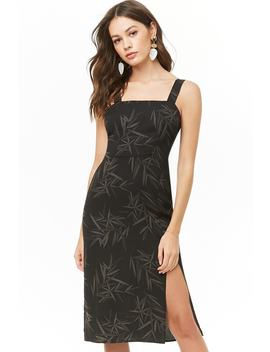Leaf Print Dress by Forever 21