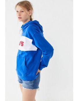 Levi's Colorblock Hoodie Sweatshirt by Levi's