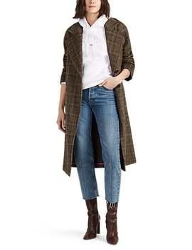 Plaid Wool Blend Coat by Avec Les Filles