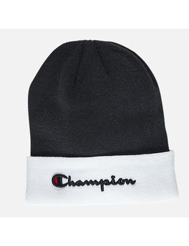 Champion Script Beanie Hat by Champion