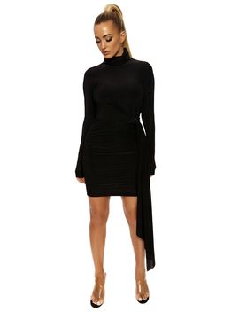 Make It A Ruched Thing Dress by Naked Wardrobe
