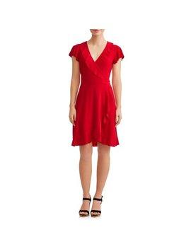 Women's Ruffle Wrap Dress by Mik