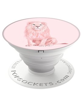 Pop Sockets: Collapsible Grip & Stand For Phones And Tablets   Albino Lion by Pop Sockets