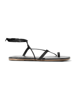 Jo Suede And Leather Sandals by Tkees