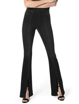Flawless   High Waist Front Vent Microflare Jeans by Joe's