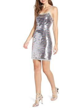 Cheyney Sequin Minidress by The East Order