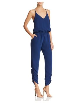 Lowell Ruched Jumpsuit by Amanda Uprichard