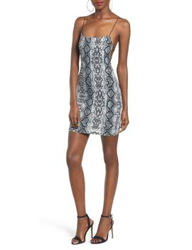 Cobra Sheath Dress by Tiger Mist