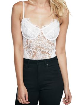 Britney Lace Bodysuit by Bardot