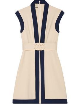 Viscose Jersey Dress With Gg Belt by Gucci