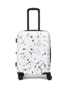 Terrazzo 22 Inch Hard Shell Spinner Carry On Suitcase by Calpak