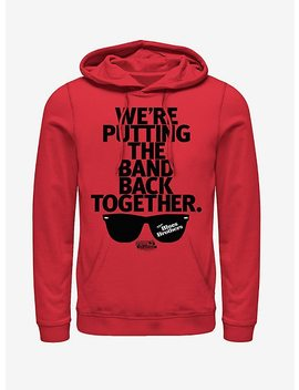 Band Back Together Sunglasses Hoodie by Hot Topic