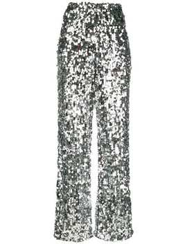 Sequin Embellished Tulle Trousers by Mm6 Maison Margiela