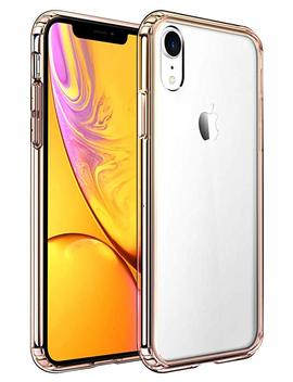Mkeke Compatible With I Phone Xr Case,Clear Anti Scratch Shock Absorption Cover Case For I Phone Xr Gold by Mkeke