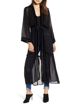 Black Widow Fabric Kimono by New Friends Colony