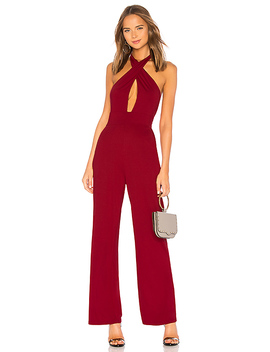 Riri Cross Front Jumpsuit by By The Way.