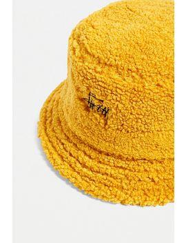 Stussy Sherpa Fleece Bucket Hat by Stussy
