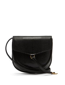 Datcha Lizard Effect Leather Cross Body Bag by Saint Laurent