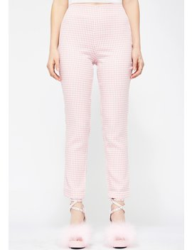 Doll Dna Gingham Pants by Evenuel