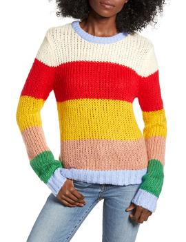 Multicolor Stripe Sweater by English Factory