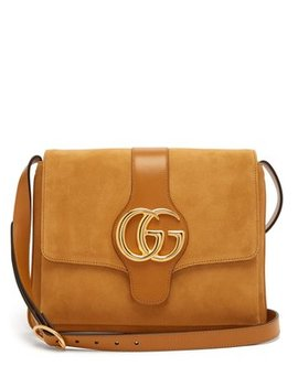 arli-gg-suede-and-leather-cross-body-bag by gucci