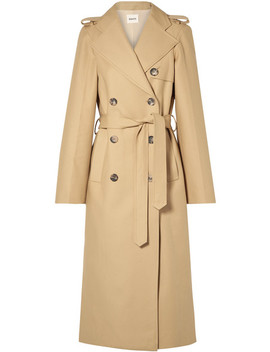Felice Cotton Gabardine Trench Coat by Khaite