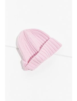 Basic Fisherman Ribbed Beanie by Urban Outfitters