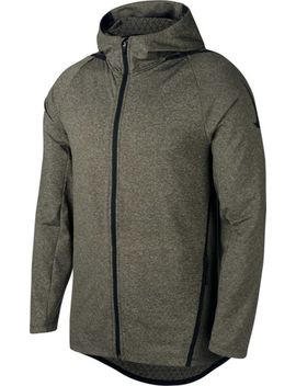 Nike Men's Ntk Dry Max Hooded Full Zip Jacket by Nike