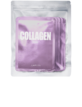 Collagen Daily Skin Mask 5 Pack by Lapcos