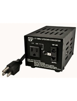 Vct Vt 1000 J   Japanese Step Up/Down Voltage Transformer Converts Japan 100 Volts To 120 Volts Or Vice Versa  1000 Watt by Vct