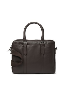 Smooth Leather Attache Case by Cole Haan