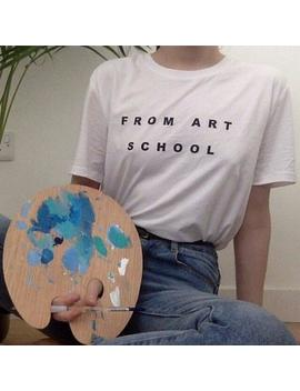 From Art School Tumblr Style Shirt by Etsy