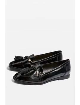Lea Patent Loafers by Topshop