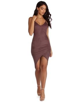 Enveloped In Style Midi Dress by Windsor